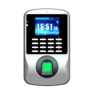 iColour 8 fingerprint and time attendance device front
